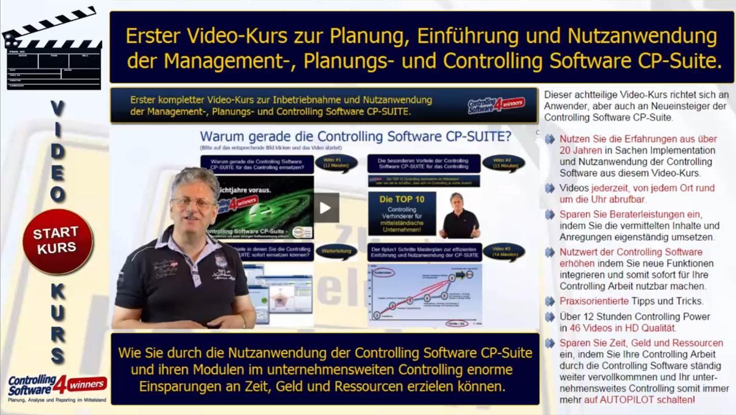Video Kurs Corporate Planner für Neueinsteiger und Profis
