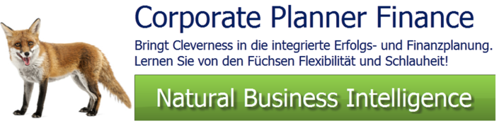 CP Finance - Corporate Planner Finanzplanung und Finanzcontrolling einfach & genial
