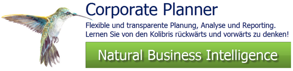 Corporate Planner Planung Analyse Reporting mit Controlling Software CP-Suite - einfach & genial