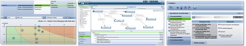 Flexible Controllingwerkzeuge zur webbasierten Planung und Reporting