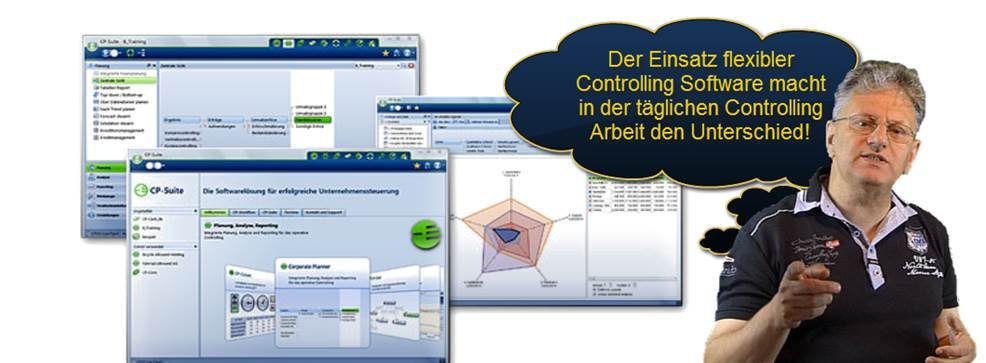 Controlling Software CP Suite