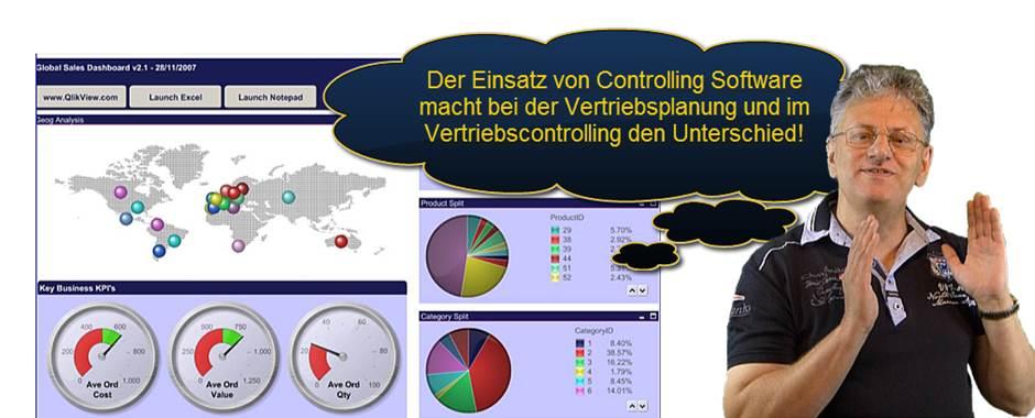 Vorteile Einsatz Controllingsoftware im Vertriebscontrolling