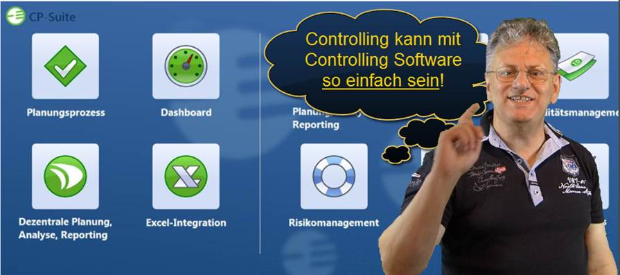 Controlling Software CP Suite Integrationen