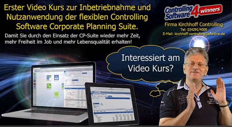 Video Kurs Warum gerade Controlling Software CP Suite?