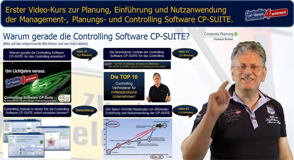 Video Kurs Inbetriebnahme Nutzanwendung CP Suite