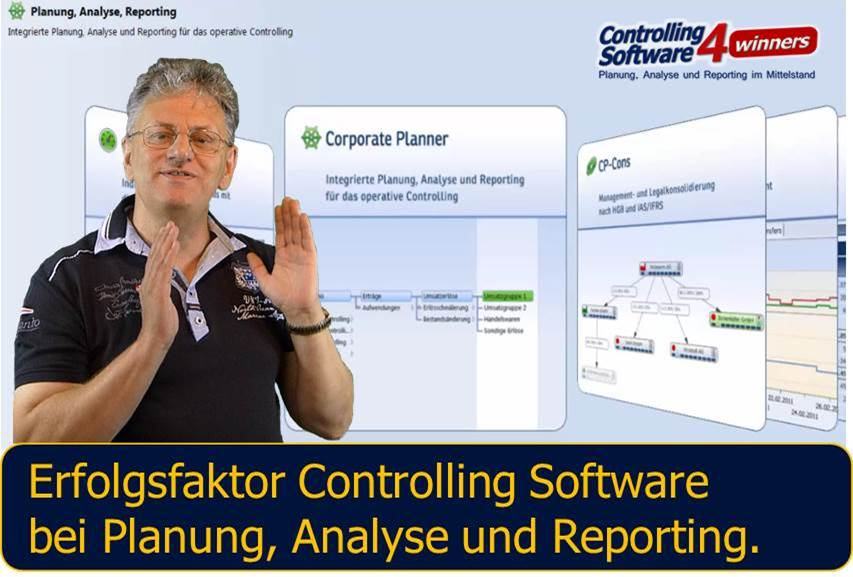 Controlling Software Integration Corporate Planner