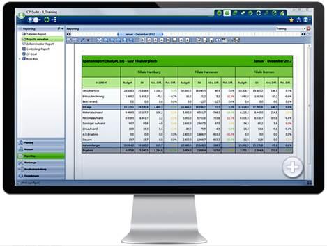 Unternehmensweites Reporting mit Corporate Planner