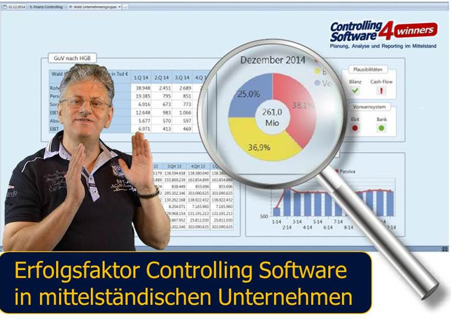 Controlling Software Corporate Planner im Mittelstand