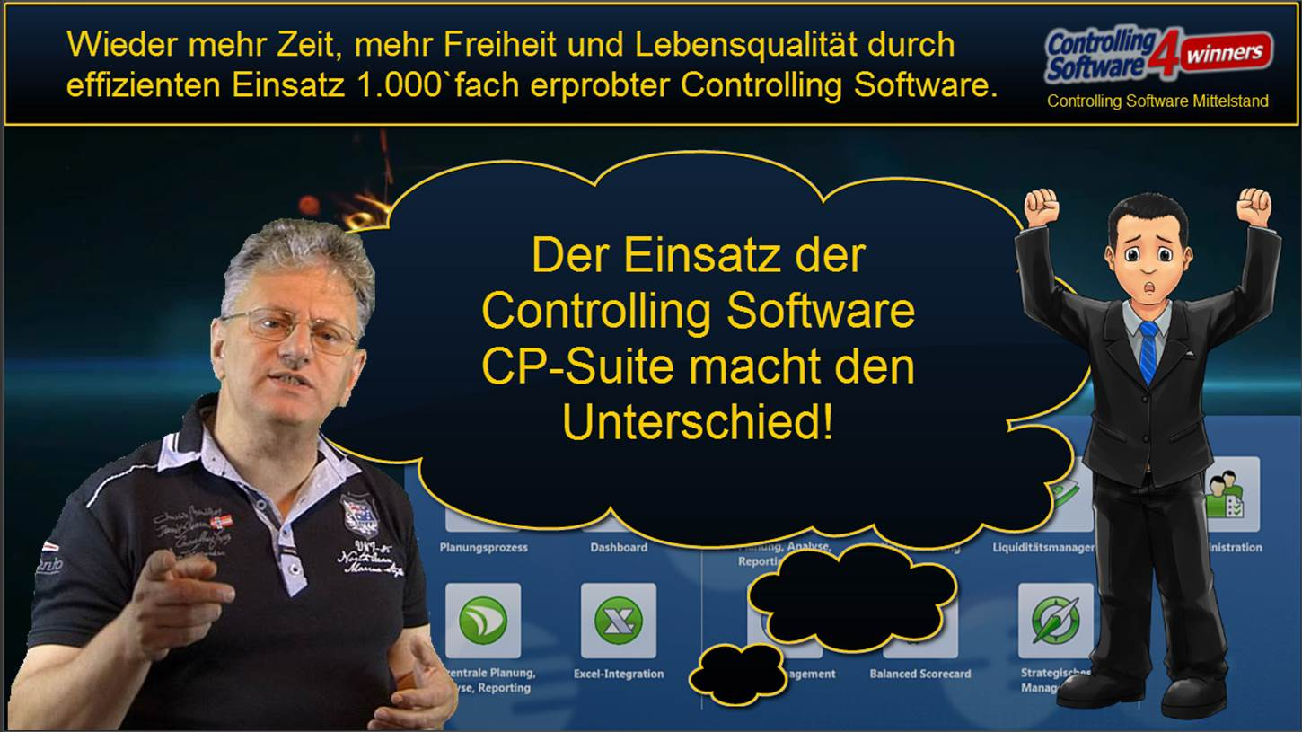 Neues Webinar Controlling Software CP-Suite