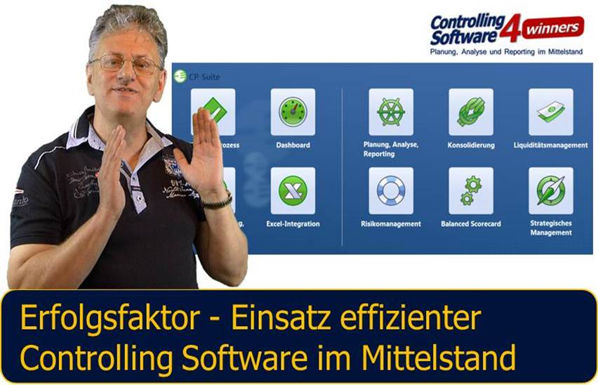 Controlling Software CP Suite Neuheiten Version 4