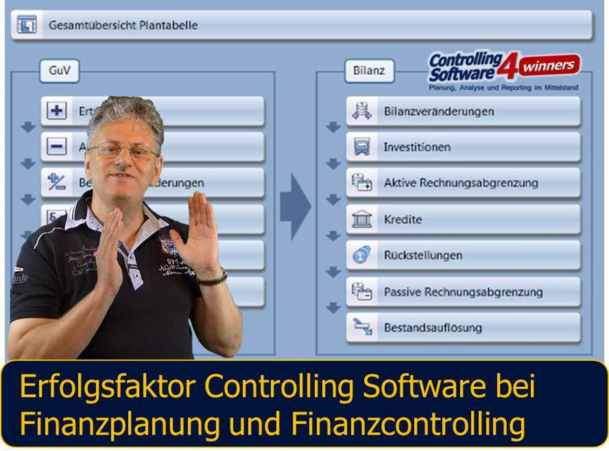 Neues Webinar Controlling Software CP Suite