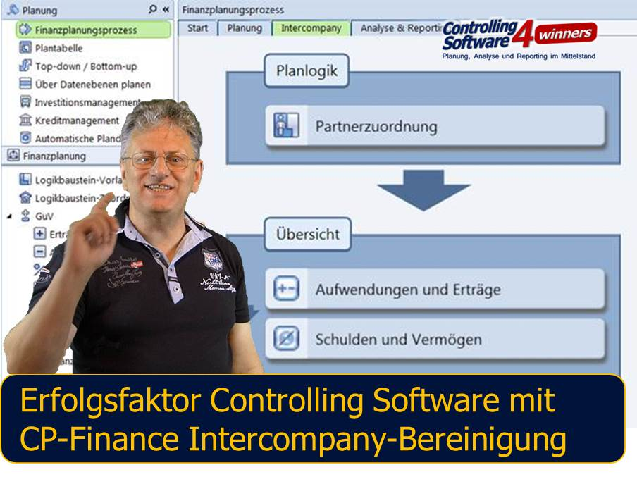 CP Finance Intercompany Bereinigung