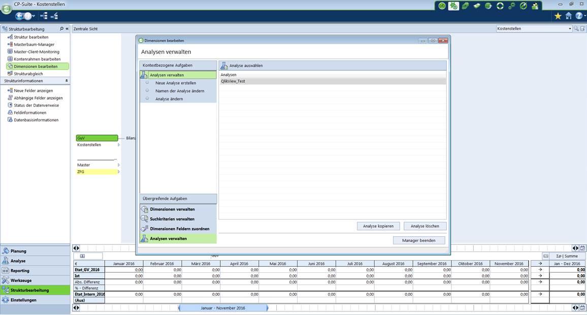 Datenexport Corporate Planner nach QlikView