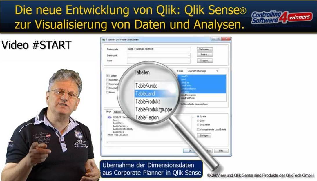 Video START: Warum gerade Qlik Sense einsetzen?