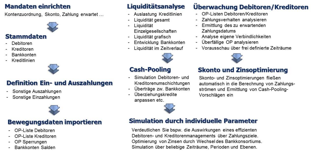Software kurzfristige Liquiditaetsplanung