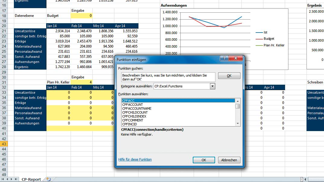 Corporate Planner Excel